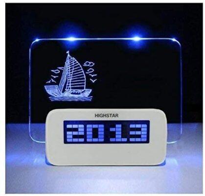LED Message Board Clock