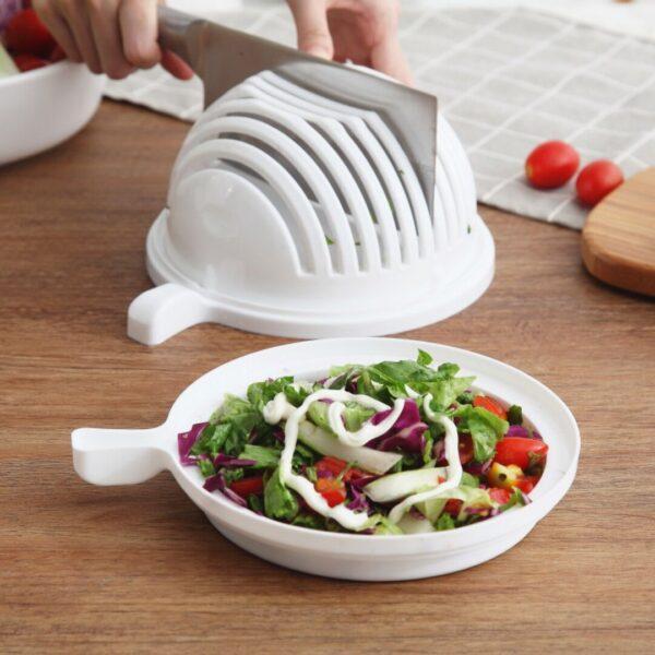 Salad Maker Cutter Bowl
