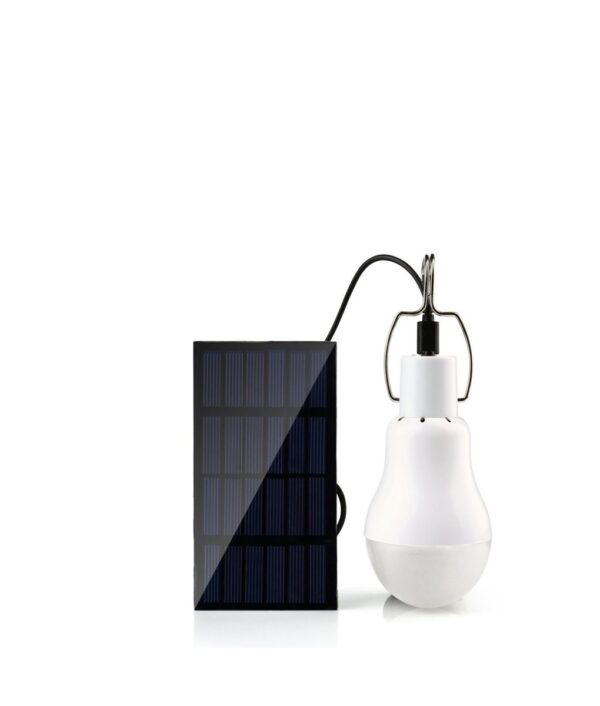 solar powered light bulb solar led lamp