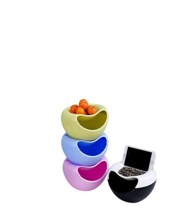 buy snack storage box phone holder