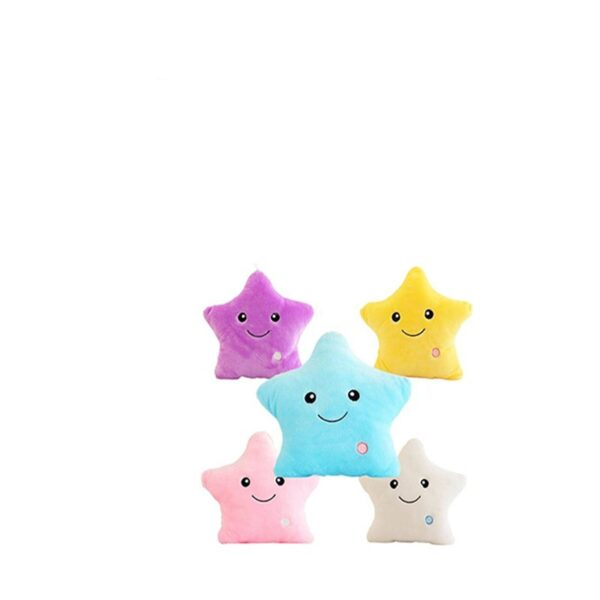 buy star shaped led light pillow