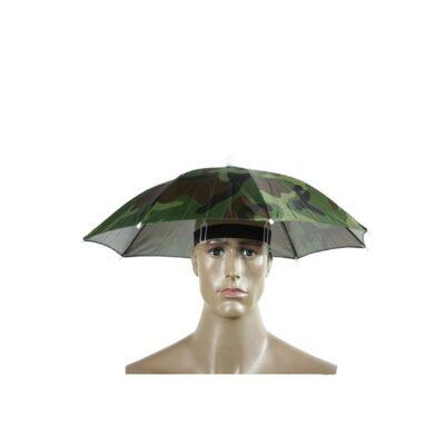 head umbrella hat