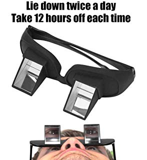 Periscope eyeglasses
