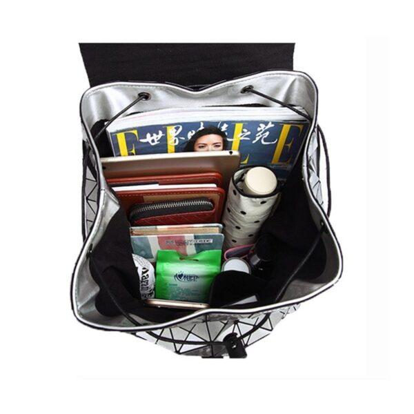 Luminous Geometric Backpack