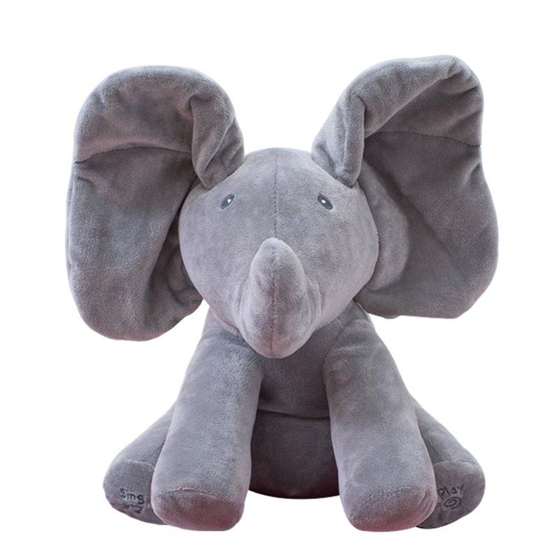 Elephant Peek-Boo