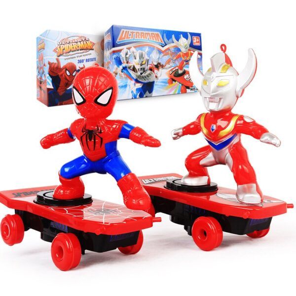 Spiderman Scooter Toys