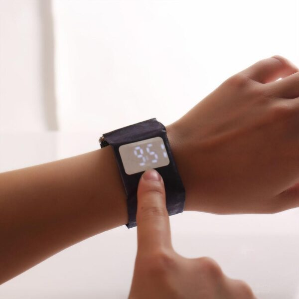 Paper Electronic Watch