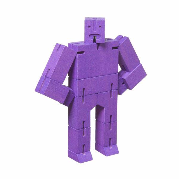 Wooden Cubebot Cube Robot