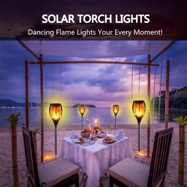 SOLAR FLAME TORCH