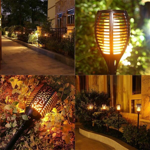 Luxenmart SOLAR FLAME TORCH