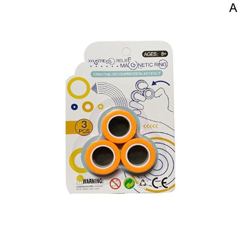 Magnetic Fingears Spinner Magnetic Rings