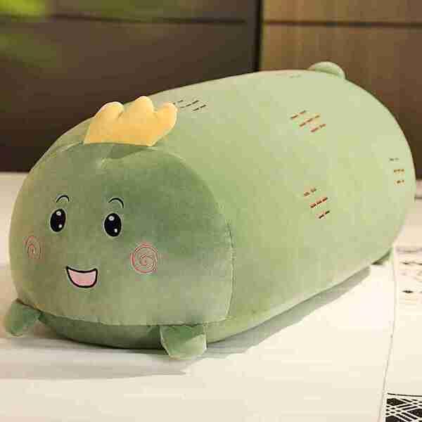 Dinosaur Soothing Pillow green