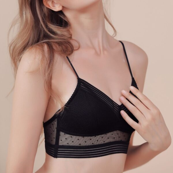 Sexy Backless Strapless Bra Push Up Thin Lace Bralette