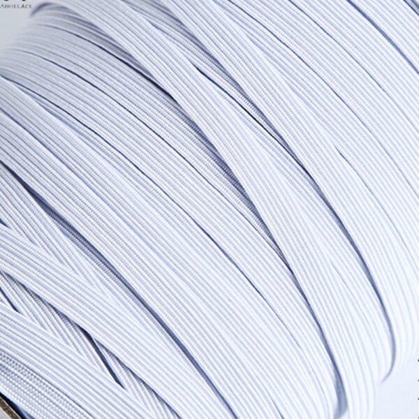 3/6/8/10/12mm 5yards/Lot High-Elastic Sewing Elastic Ribbon Elastic Spandex Band Trim Sewing Fabric DIY Garment Accessories