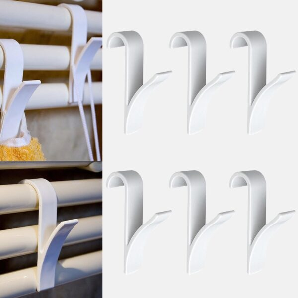 High Quality Hanger For Heated Towel Radiator Rail Clothes Hanger Bath Hook Holder