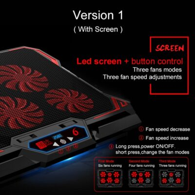 Gaming Laptop Cooler - Laptop Cooling Pad