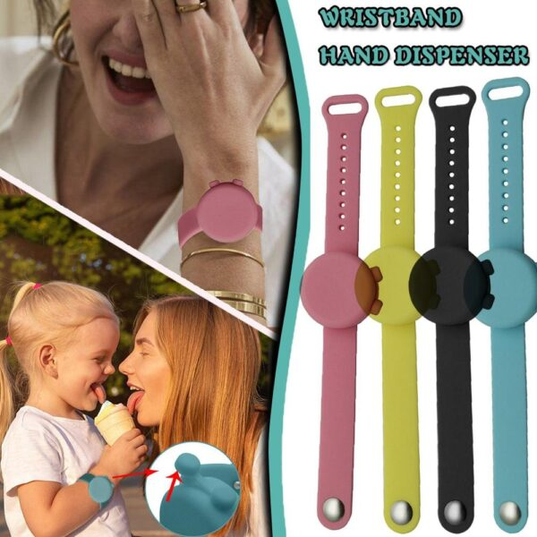 Sanitizer Bracelet Pumps Disinfectant Sanitizer Dispenser Bracelet Wristband Hand Sanitizer