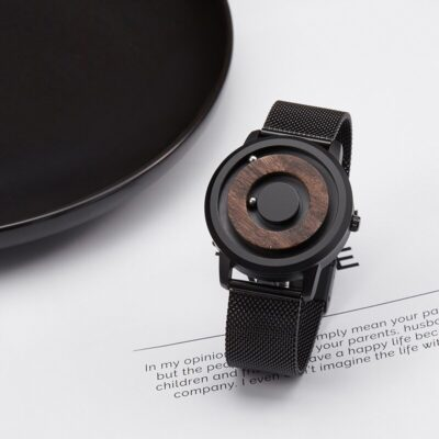 Magnetic Wood Watch Men 2020 Luxury