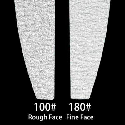 Sandpaper Nail File Lime 100/180 Double Side Sanding Buffer Block