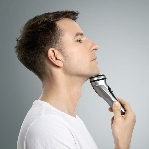Electric Shaver Smart Control Protection Razor Type-C Rechargeable