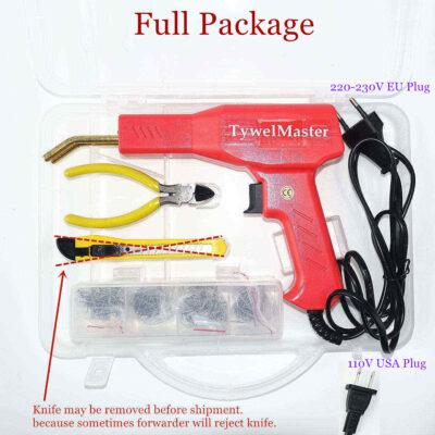 Handy Plastic Welder Garage Tools Hot Staplers Machine