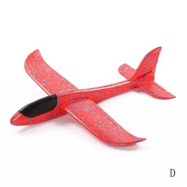 Hand Throw Foam Plane Toys Outdoor Launch Glider airplane