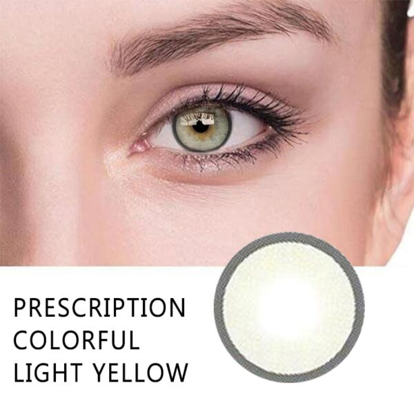 Cosmetic Colorful Contact Lens (10 Color / 2 pcs)