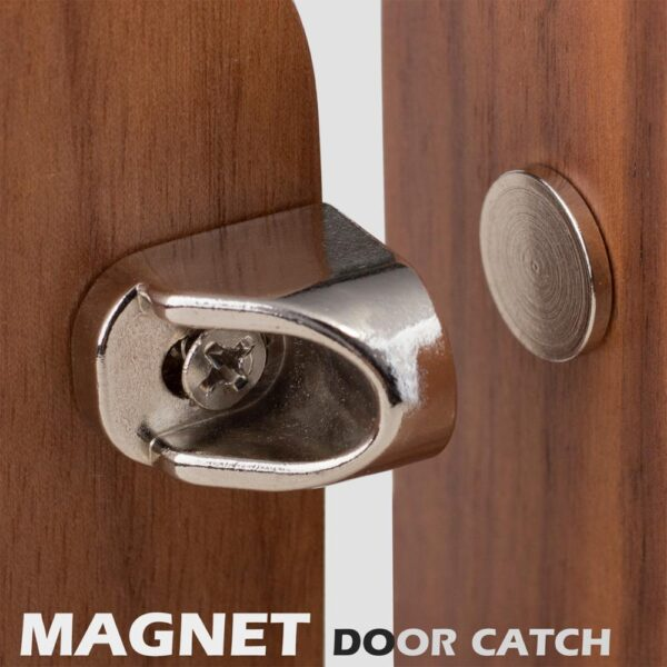 Magnet Door Catch Furniture Fittings Strong Magnets for Furniture Door Stoppers Super Powerful Cabinet Neodymium Magnetic Latch