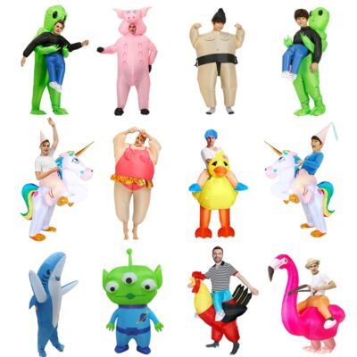 Inflatable Alien Sumo Party costumes