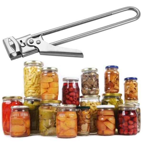 Adjustable Multifunctional Stainless Steel Can Opener - Multifunctional Opener Adjustable