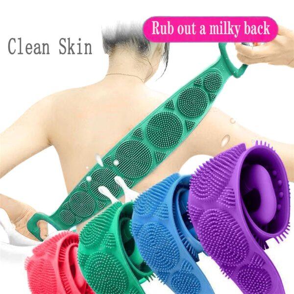 Magic Silicone Brushes Bath Towels - Body Brush Bath Belt