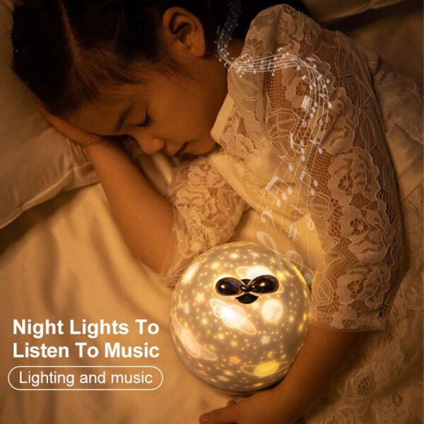 DYNAMIC PROJECTOR LAMP Starry Sky Projector Night Light