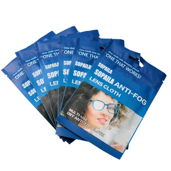 Anti-fog Cloth Microfiber 6pcs 15x15cm Eyeglasses Cloth Fabric Glasses Cleaner for Spectacles Lenses Camera Phone Screen