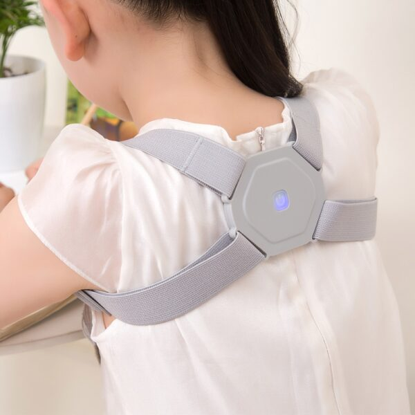 Intelligent Posture Corrector Electronic Reminder Back Support Adjustable Smart Brace Support Belt Shoulder Training Belt