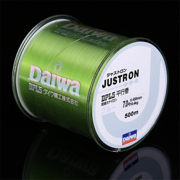 500m Super Strong Fishing Line Daiwa Justron Japan Monofilament Nylon Fishing Line 2-35LB