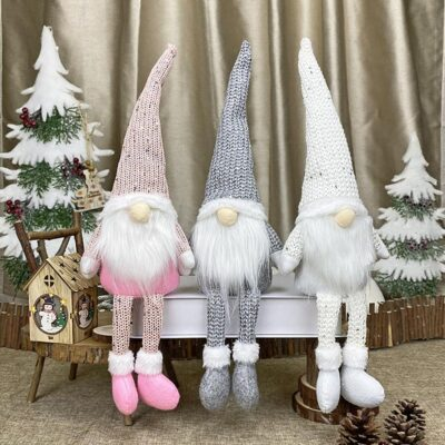 FRIGG Santa Faceless Doll 2020 Christmas Decorations For Home Merry Christmas Ornament Xmas Gifts Navidad Happy New Year 2021