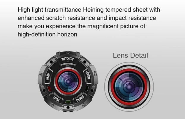 Lens details of Mini Action Camera