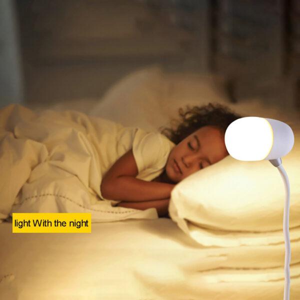 3-in-1 Night Light Bluetooth Speaker Wireless Charger