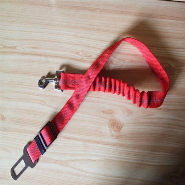 Doggy Seatbelt - Dog Seat Belt Dog Car Seatbelts Adjustable Pet Seat Belt for Vehicle Nylon Pet Safety Seat Belts Elastic & Reflective