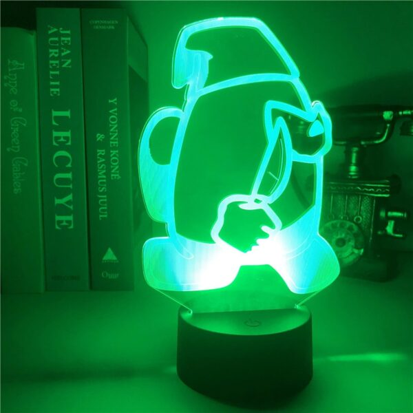 Among Us 3D Crewmate Led Light