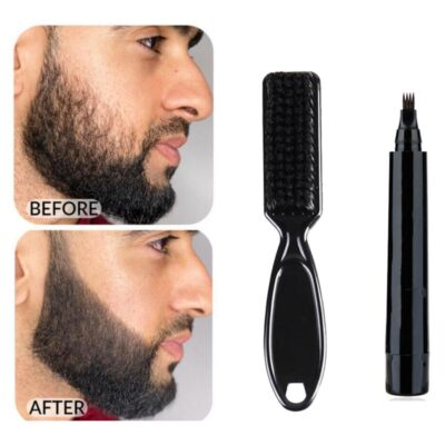 Beard Pen Beard Filler Pencil And Brush Beard Enhancer