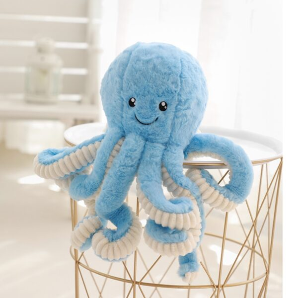 Cute Octopus Plush Stuffed Toys Lovely Soft Home Accessories Pillow Sea Creative Animal Doll Children 40-80cm Girl Gift Tikilisa