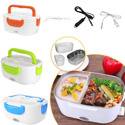 HeaterBox ™ 2 in 1 Car& Home Electric Heated Lunch Box Portable
