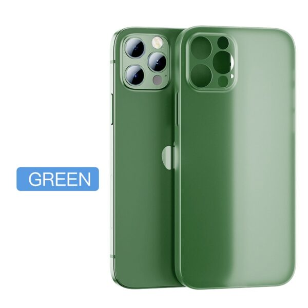 Ultra Thin Matte Phone Case For iPhone 12 11 Pro Max X XR XS