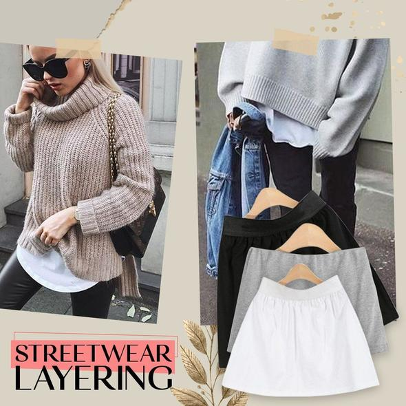 Layering Top Lower Sweep