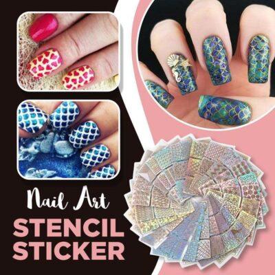 Nail Art Stencil Sticker