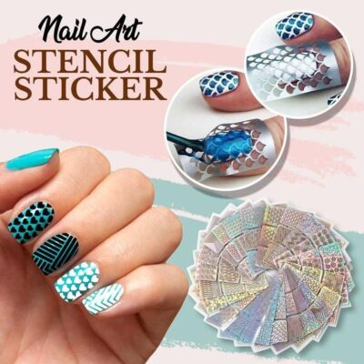 Nail Art Stencil Sticker