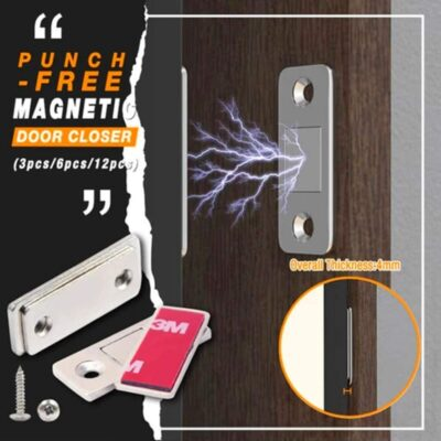 Invisible Magnetic Door Stoppers