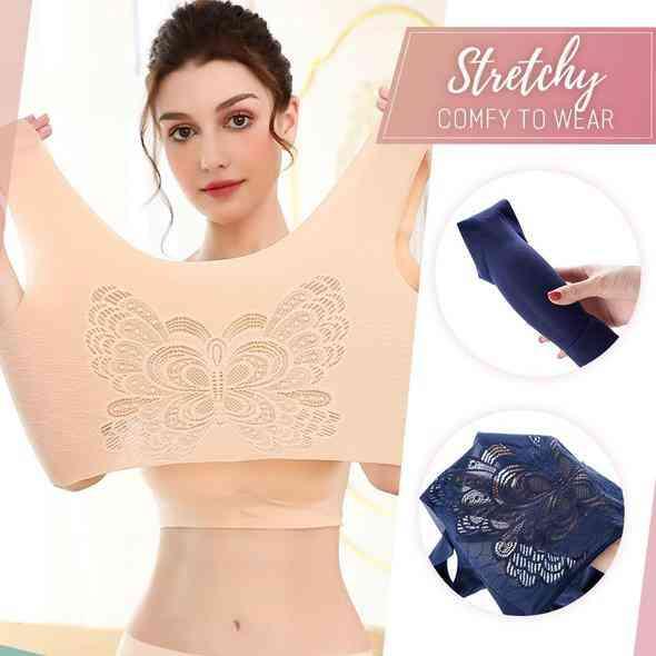 Breathy Wing Ice Silk Bra