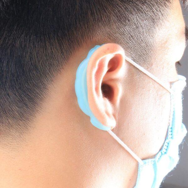 Anti-Slip Silicone Mask Ear Cushions